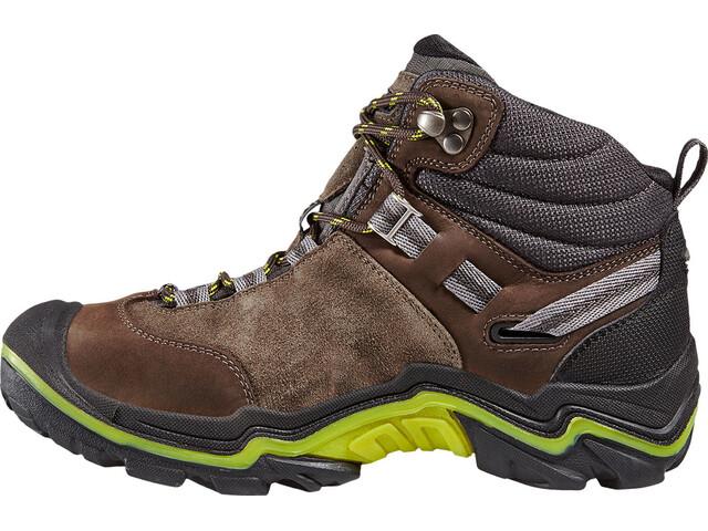 best loved e8d25 b81b2 Keen Wanderer Mid WP Shoes Women raven/bright chartreuse